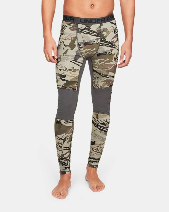 Men's UA Mid Season Reversible Wool Base Leggings, Misc/Assorted, pdpMainDesktop image number 0