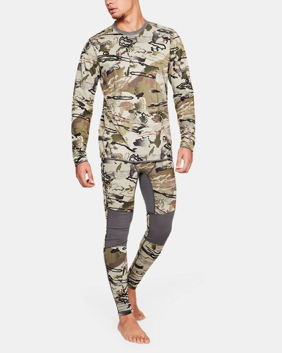 Men's UA Mid Season Reversible Wool Base Leggings, Misc/Assorted, pdpMainDesktop image number 1