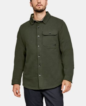 Men's UA Buckshot Fleece Shirt  1  Color Available $99.99
