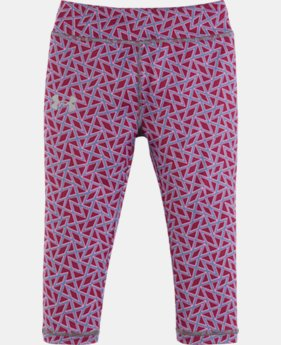 New Arrival Girls' Pre-School UA Chain Grid Capris   $27.99
