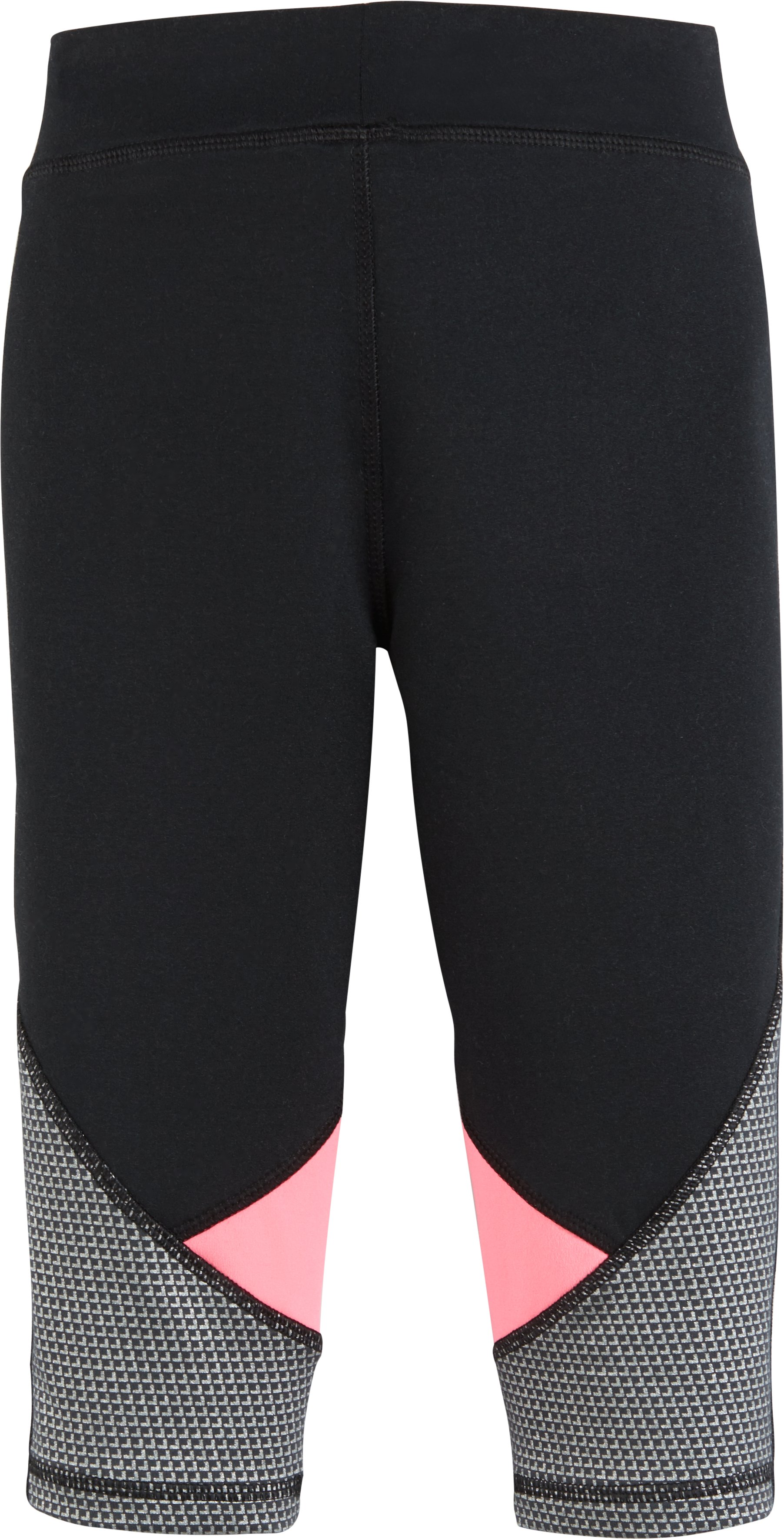 Girls' Pre-School UA Checkpoint Finale Capris, Black , undefined
