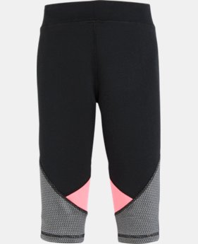 New Arrival Girls' Pre-School UA Checkpoint Finale Capris  1 Color $27.99