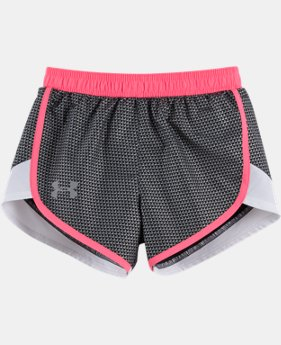 New Arrival Girls' Toddler UA Checkpoint Fast Lane Shorts LIMITED TIME: FREE U.S. SHIPPING  $21.99