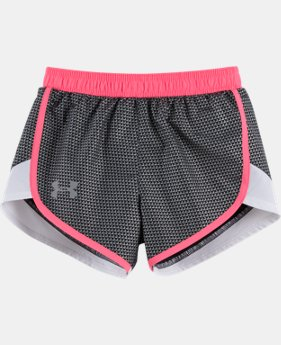 New Arrival Girls' Pre-School UA Checkpoint Fast Lane Shorts   $21.99