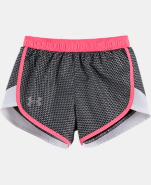 New Arrival Girls' Pre-School UA Checkpoint Fast Lane Shorts  1 Color $21.99