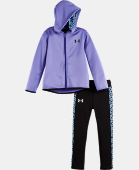 New Arrival Girls' Toddler UA Chain Grid Set  1 Color $44.99