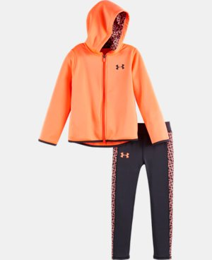 New Arrival Girls' Toddler UA Chain Grid Set   $44.99