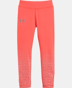 New Arrival Girls' Toddler UA Chain Grid Shimmer Leggings  2 Colors $29.99