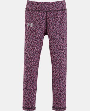 New Arrival Girls' Pre-School UA Chain Grid Leggings   $29.99