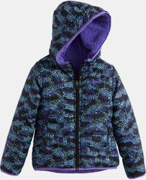 New Arrival Girls' Toddler UA Mini Galaxy Feature Reversible Puffer Jacket  1 Color $84.99