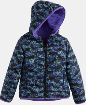 New Arrival Girls' Pre-School UA Mini Galaxy Feature Reversible Puffer Jacket  1 Color $84.99
