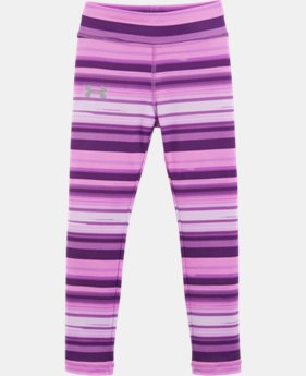 New Arrival Girls' Toddler UA Blurred Stripe Leggings   $29.99