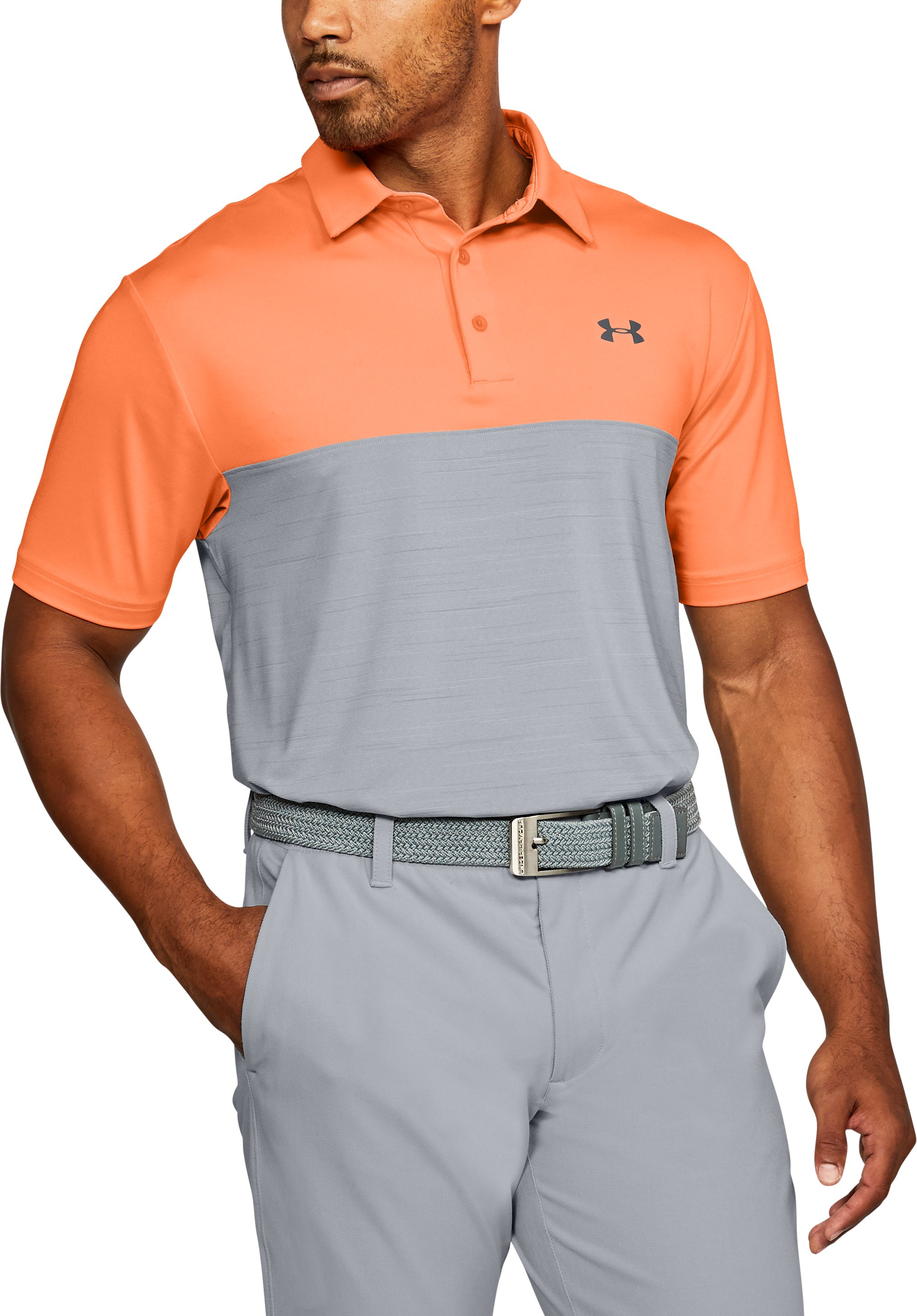 Men's UA Playoff Polo, Mandarin