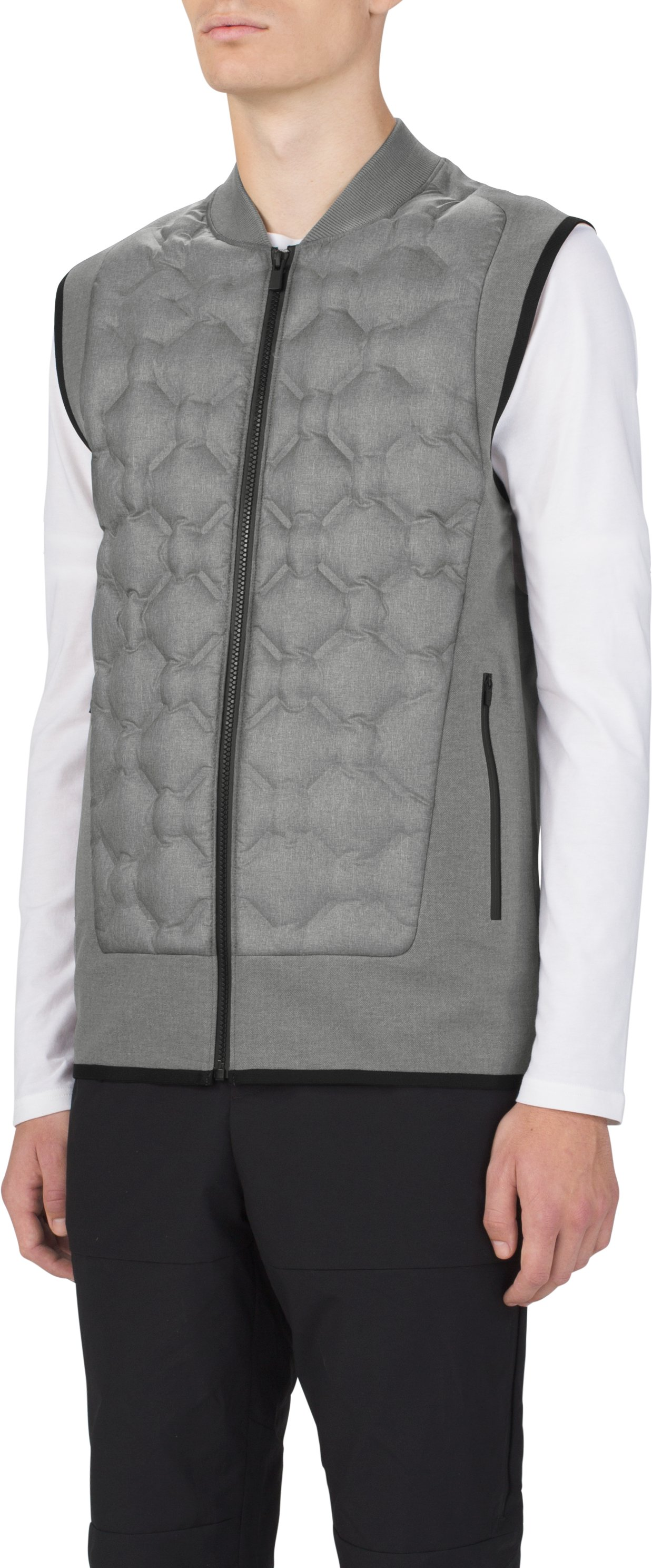 Transition Insulated Suiting Vest, WARM HEATHER, zoomed image
