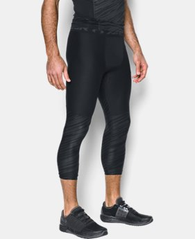 Men's HeatGear® Armour Football Printed ¾ Leggings  1 Color $44.99