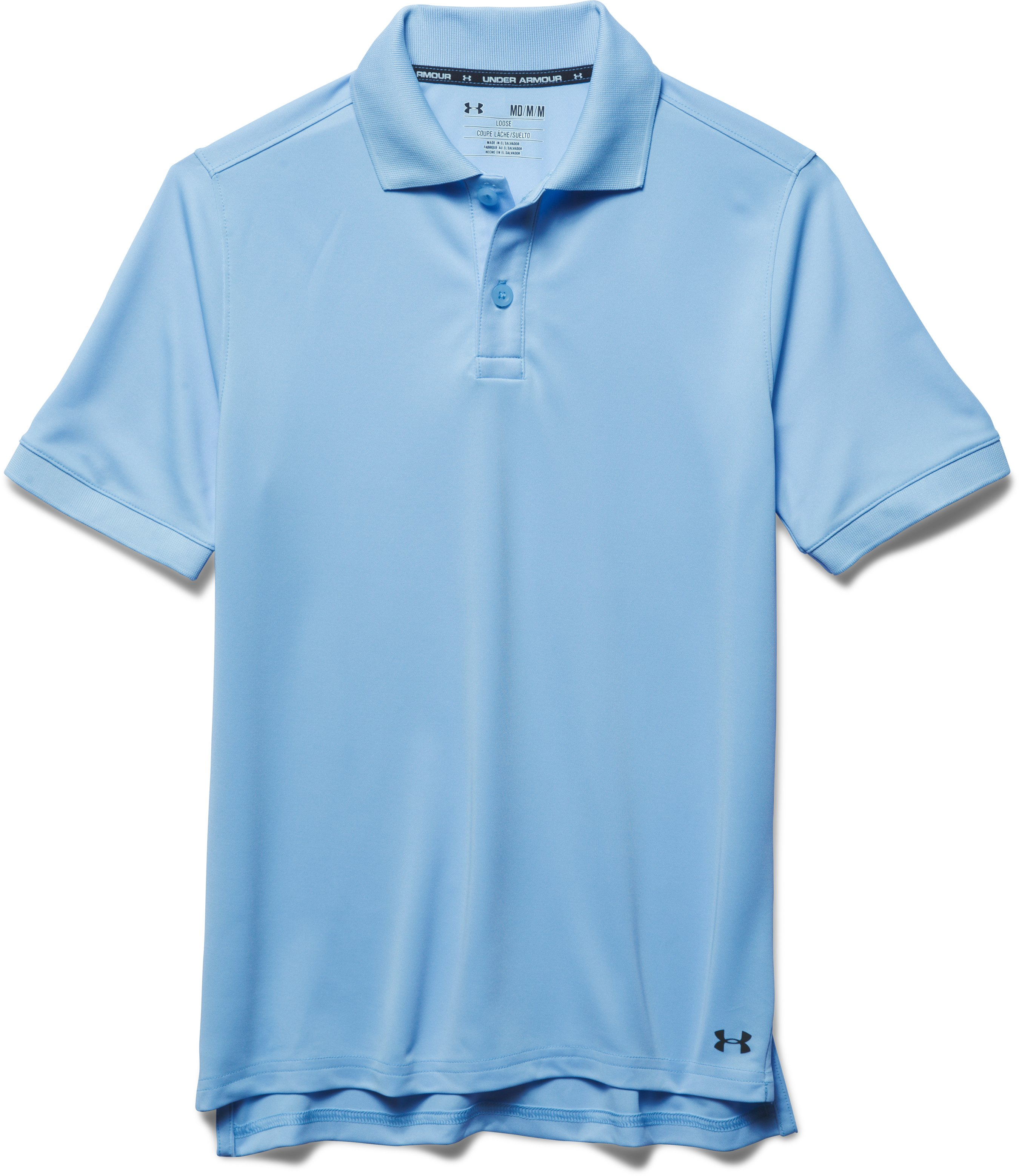 UA Uniform Short Sleeve Polo – Pre-School, Jetstream, Laydown