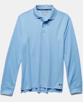 Boys' UA Uniform Long Sleeve Polo  3 Colors $34.99