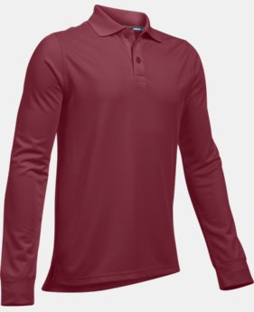 Boys' UA Uniform Long Sleeve Polo   $34.99 to $35