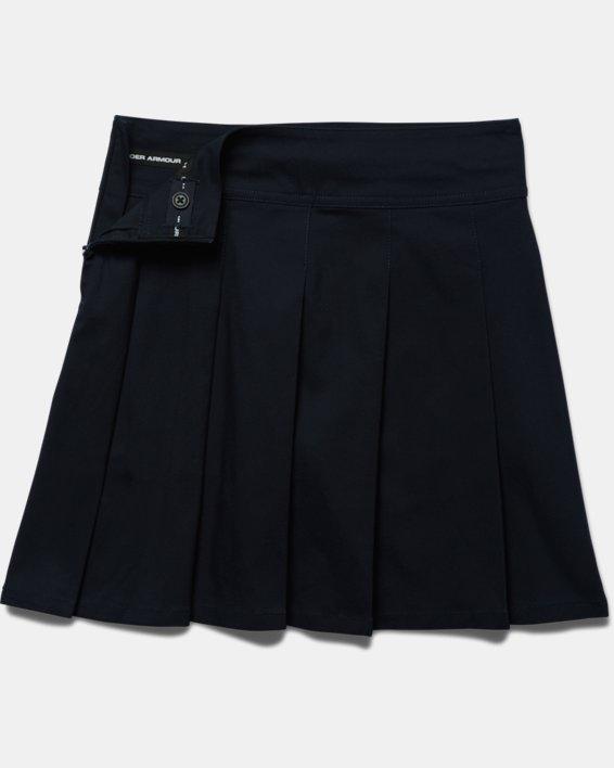 Girls UA Uniform Skort, Blue, pdpMainDesktop image number 3
