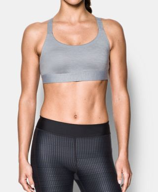 Women's Armour® Eclipse Low Heathered Sports Bra