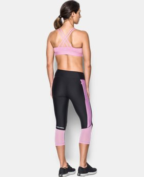 Women's Armour® Eclipse Low Heathered Sports Bra  1 Color $44.99