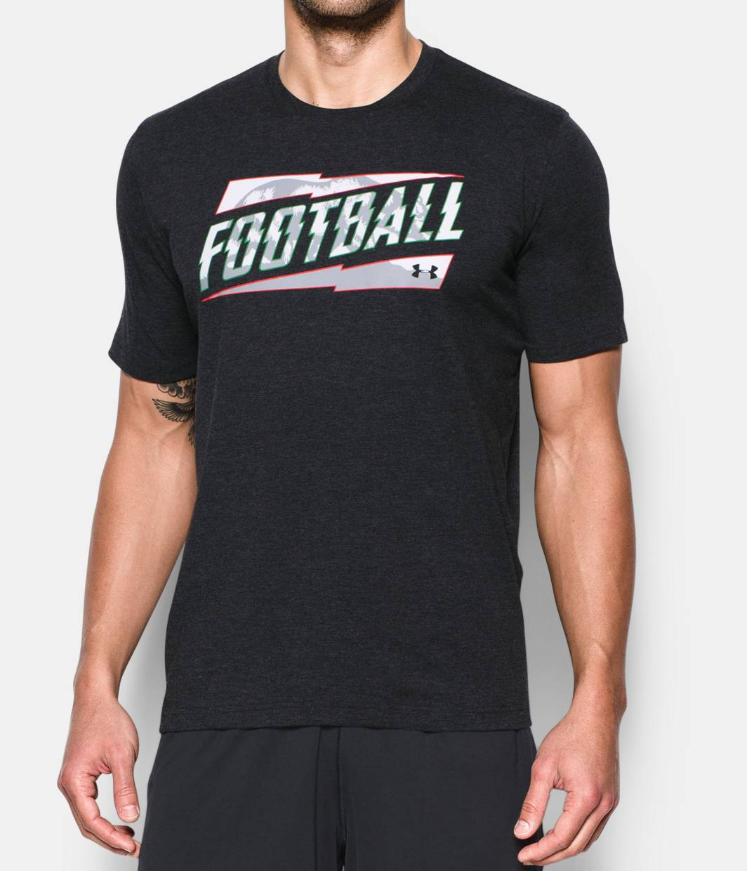 Men 39 s cali ua football t shirt under armour us for Under armor football shirts