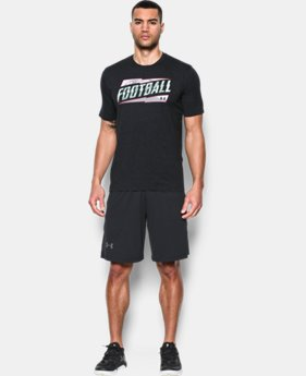 New Arrival Men's California UA Football T-Shirt LIMITED TIME: FREE SHIPPING 1 Color $24.99