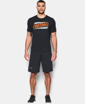 New Arrival Men's Georgia UA Football T-Shirt LIMITED TIME: FREE SHIPPING 1 Color $24.99