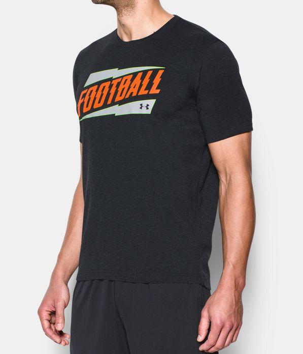 Men 39 S Georgia Ua Football T Shirt Under Armour Us