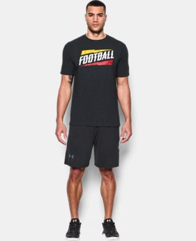 New Arrival Men's Maryland UA Football T-Shirt LIMITED TIME: FREE SHIPPING 1 Color $24.99