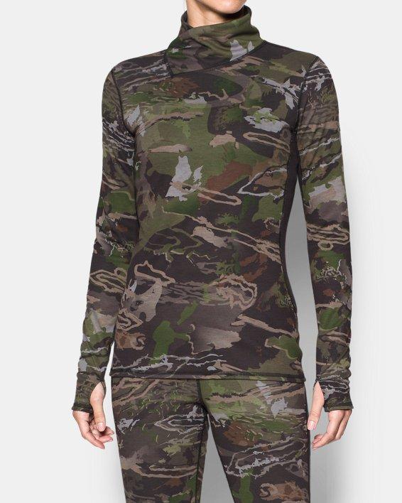 Women's UA Mid Season Reversible Wool Base Top, Misc/Assorted, pdpMainDesktop image number 0