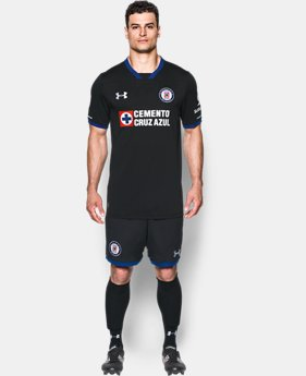 Men's Cruz Azul Replica Home/Third Jersey  1 Color $90
