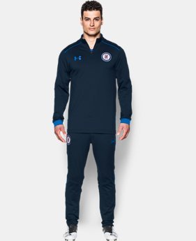 Men's Cruz Azul ¼ Zip Training Top  1 Color $85