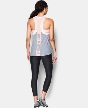 Women's UA Mesh Wordmark Tank  3 Colors $21.99 to $27.99