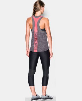 Women's UA Mesh Wordmark Tank  2 Colors $16.49 to $20.99
