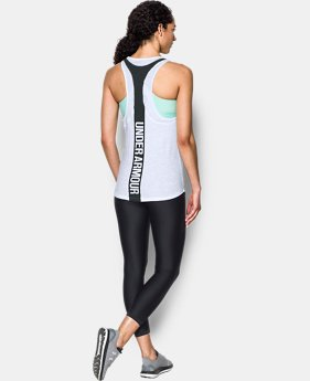 Women's UA Mesh Wordmark Tank  1 Color $29.99