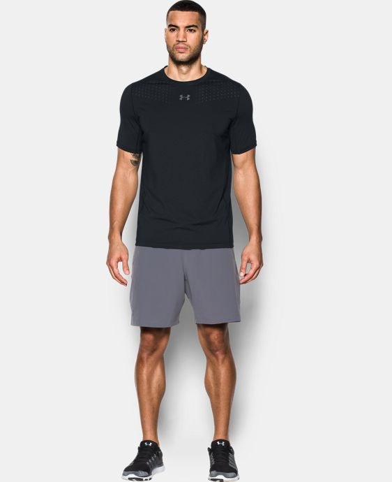 New Arrival Men's HeatGear® CoolSwitch Fitted Short Sleeve  1 Color $34.99