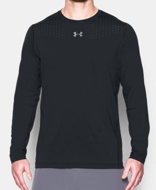 男士HeatGear® CoolSwitch修身型長袖運動衣