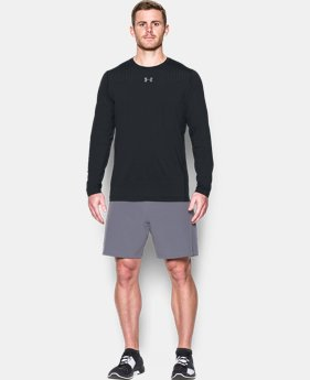 Men's HeatGear® CoolSwitch Fitted Long Sleeve  1 Color $37.49