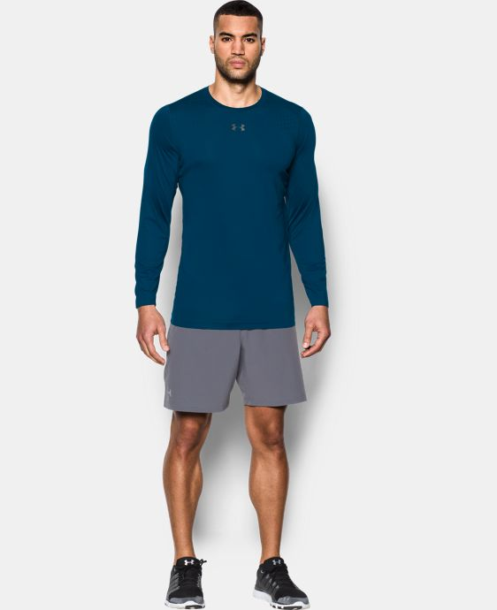 New Arrival Men's HeatGear® CoolSwitch Fitted Long Sleeve  2 Colors $44.99