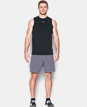 New Arrival Men's HeatGear® CoolSwitch Fitted Sleeveless  1 Color $39.99
