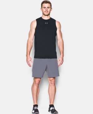 New Arrival Men's HeatGear® CoolSwitch Fitted Sleeveless   $39.99
