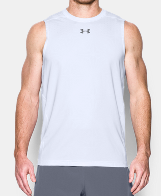 Men's HeatGear® CoolSwitch Fitted Sleeveless