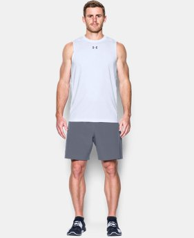 New Arrival Men's HeatGear® CoolSwitch Fitted Sleeveless  1 Color $34.99