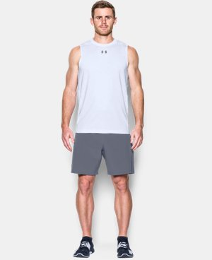 New Arrival Men's HeatGear® CoolSwitch Fitted Sleeveless  2 Colors $34.99
