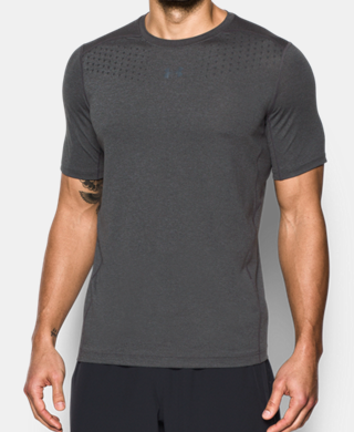 Men's HeatGear® CoolSwitch Twist Fitted Short Sleeve