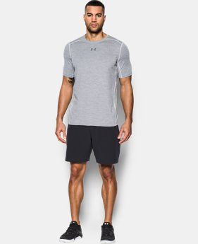 New Arrival Men's HeatGear® CoolSwitch Twist Fitted Short Sleeve  2 Colors $34.99