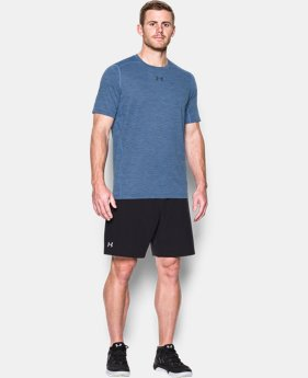 New Arrival Men's HeatGear® CoolSwitch Twist Fitted Short Sleeve  1 Color $34.99