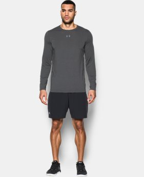 Men's HeatGear® CoolSwitch Twist Fitted Long Sleeve  1 Color $34.99