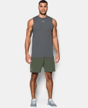 Men's HeatGear® CoolSwitch Twist Fitted Sleeveless  1 Color $29.99
